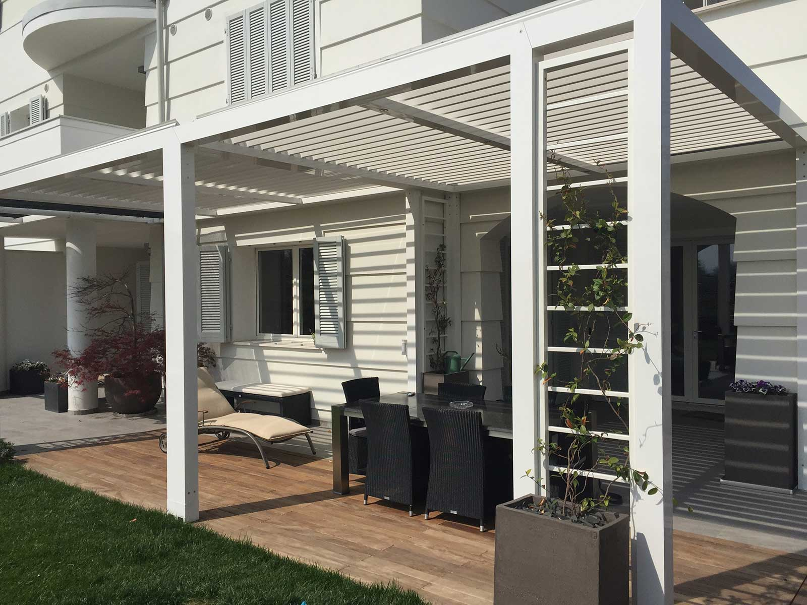 Pergola Retractable Awning Denver - Best Awning Company