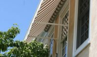 Retractable Shades Window Awning Side View