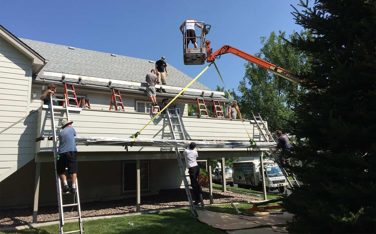 Awning Team Installation